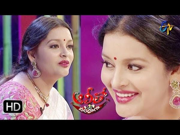 Alitho Saradaga 15th April 2019 Renu Desai Actress ETV Telugu