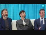 Jon Hamm, David Tennant, Micheal Sheen Perform Dueling Hamlets RUS SUB