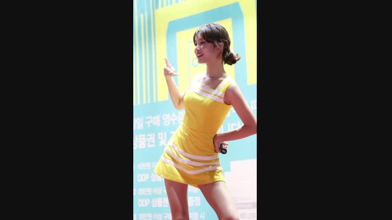 180911 엘리스 (ELRIS) 벨라 직캠 - Summer Dream (DDP Fashion Mall) By 애니닷