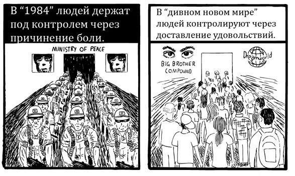 Хаксли vs Оруэлл