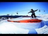 MINI Snowpark Feldberg Schwarzwald Snowboard Jibs - 31.01.2014