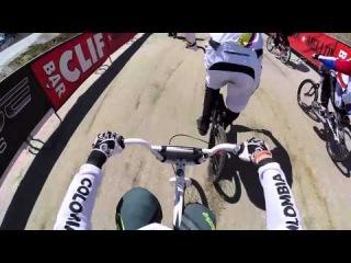 UCI BMX Supercross 2014 Berlin: GoPro Carlos Ramirez