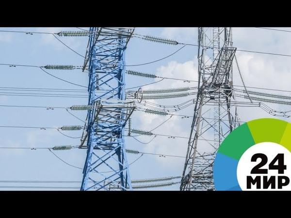 На западе Москвы демонтируют линии электропередачи - МИР 24