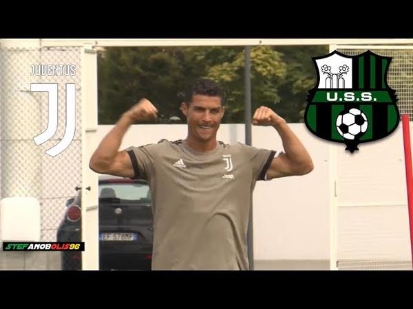 Cristiano Ronaldo ⚽ Juventus Vs Sassuolo ⚽ Allenamento\Training ⚽ 2018\2019 HD CristianoRonaldo