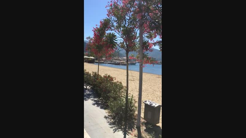 Marmaris center beach
