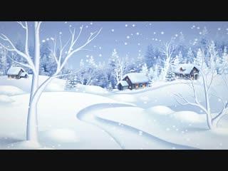 Snowy scene 1 [1080p & 60fps]