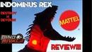Mattel Destroy N Devour Indominus Rex Review Jurassic World