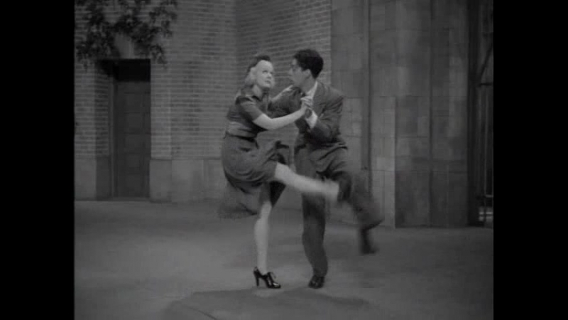 Tap Dance Routine Featuring Hal And Honey Abbott (1938)