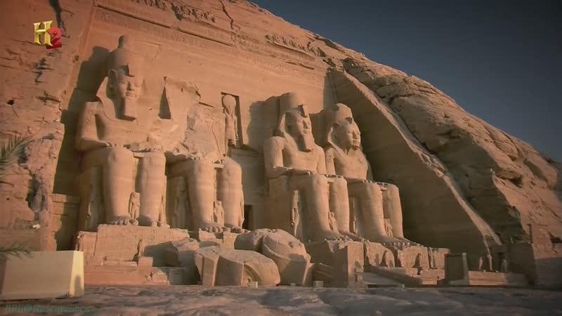 History «Невероятные проекты древнего мира (03). Монументы-исполины» (Познавательный, история, 2014)