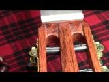 Как правильно завязать нейлоновые струны на колках классической гитары