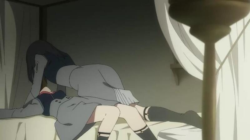 Икуно и Ичиго лесбиянки! OVERLORDS оказался прав! Милый во Франксе 18 серия