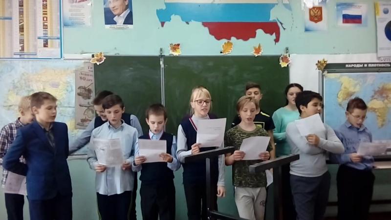 1 Репетиция песни к дню учителя