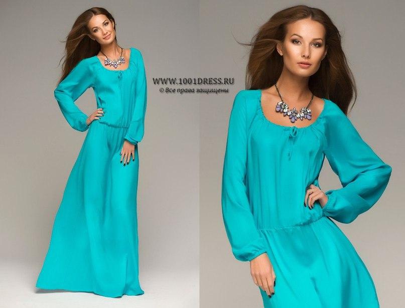 Купить длинное платье модное 9