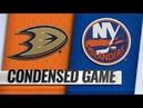 Anaheim Ducks vs New York Islanders Jan 20 2019 Game Highlights NHL 2018 19 Обзор матча