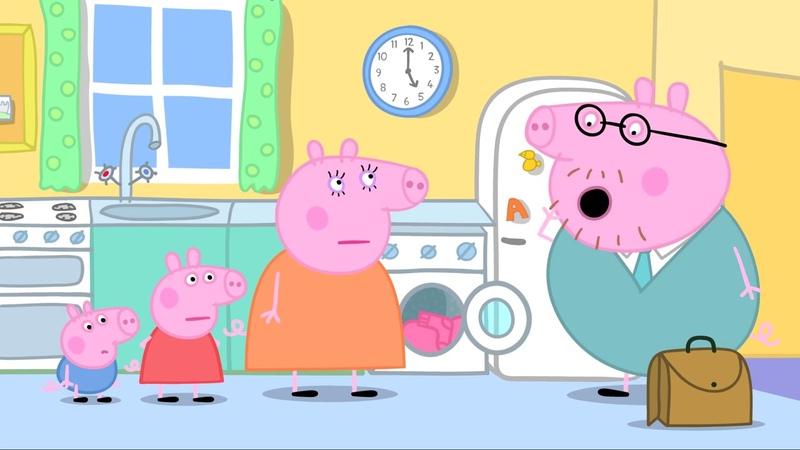 Popular Peppa Pig Episodes Washing Football Episode Cartoons for Children