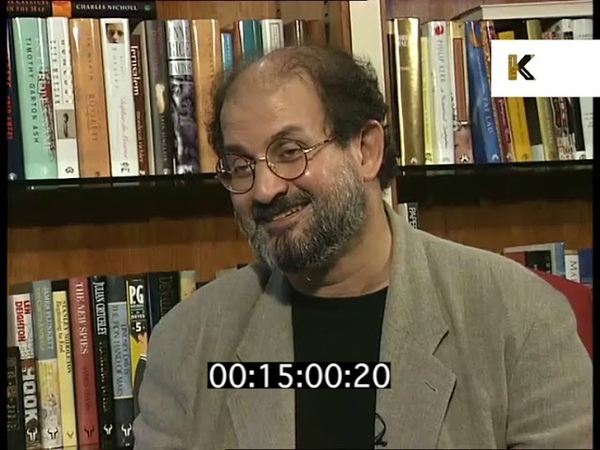 Salman Rushdie on Fatwa Impact, 1995 Interview Rushes