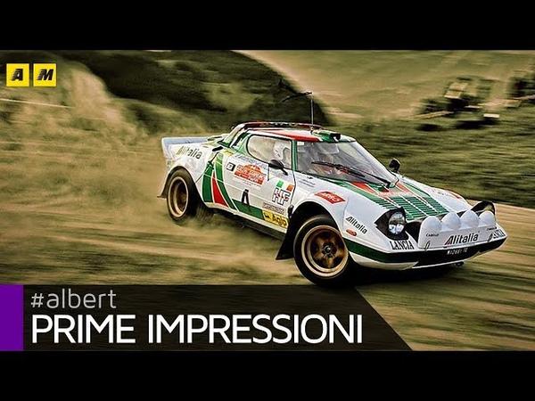 Lancia Stratos HF a bordo della leggenda dei rally Che SOUND