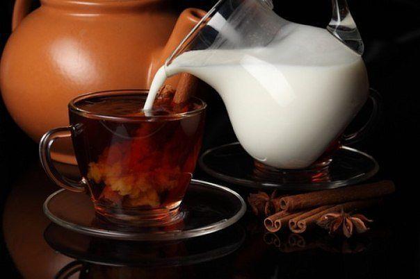 Худеем на чае с молоком