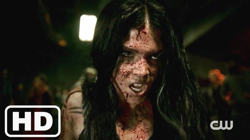 The 100 5x02 Octavia Fight Scene