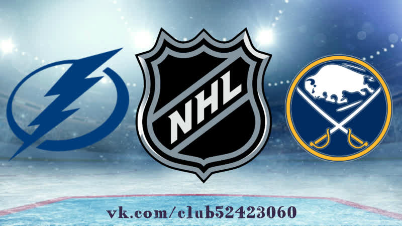 Tampa Bay Lightning vs Buffalo Sabres 13 11 2018 NHL Regular Season 2018 2019