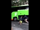 In France migrant gangs have found a new way to rob bus passengers