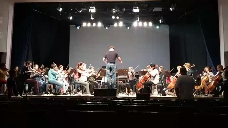 Открытая репетиция Государственного симфонического оркестра УР