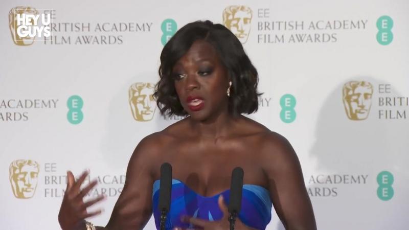Viola Davis Winners Press Conference - Best Supporting Actress BAFTA 2017