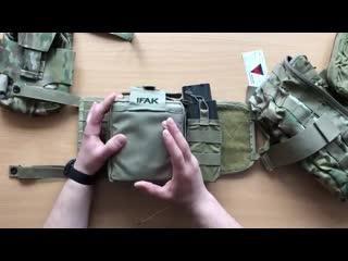 Обзор на подсумки first spear и tactical tailor под личную аптечку от wartrade