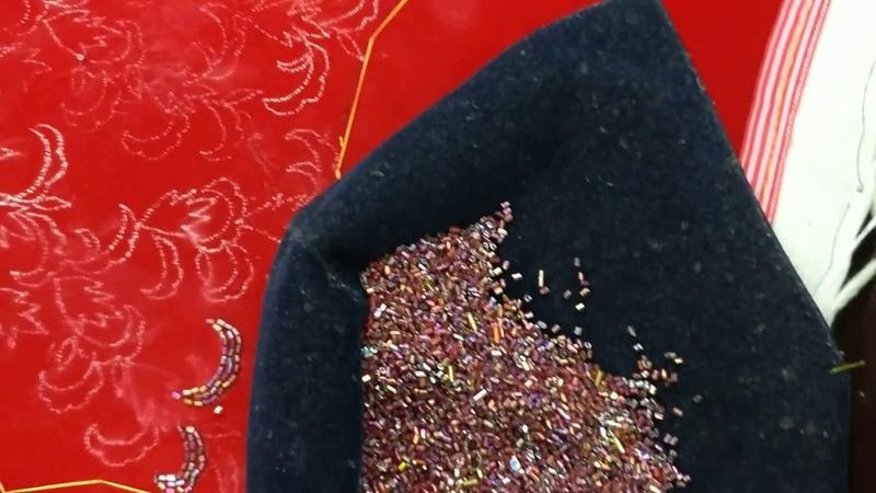 Crop Top Embroidery design 001