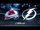 Colorado Avalanche vs Tampa Bay Lightning Dec.8, 2018