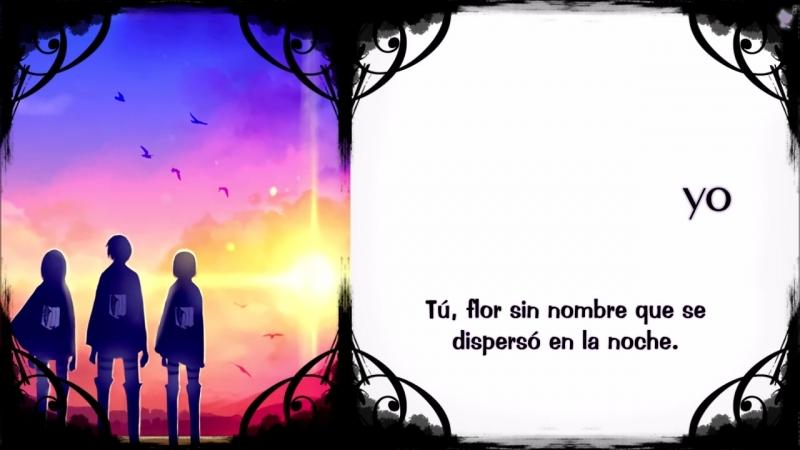 Shingeki No Kyojin 3 ED1 - Requiem der Morgenröte [Sub Español Karaoke]