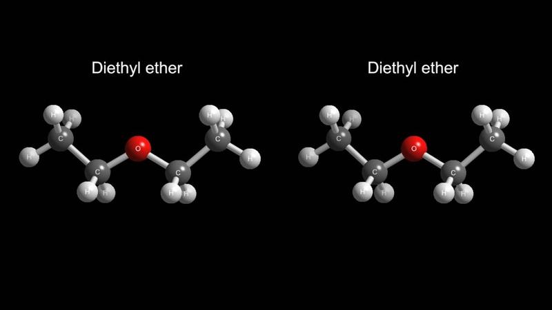 3D Molecular VR-Diethyl ether sp