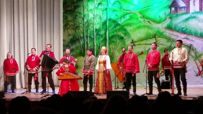 Владимирские рожечники Вьюн на воде Отчетный концерт во Владимирской филармонии