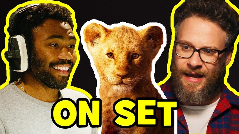 Behind The Scenes on THE LION KING - Voice Cast Songs, Clips Bloopers