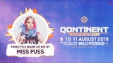 The Qontinent 2019 Freestyle Warm-Up Mix by Miss Puss