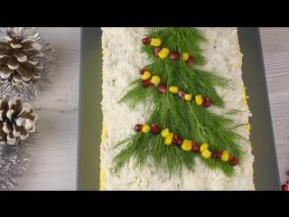 Закусочный Мясной Торт Новогодняя елочка. Все мужчины от него в восторге!