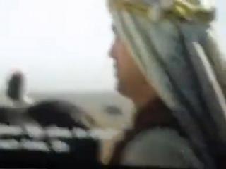 """Фрагмент фильма """"Королева пустыни"""" с Робертом Паттинсоном"""