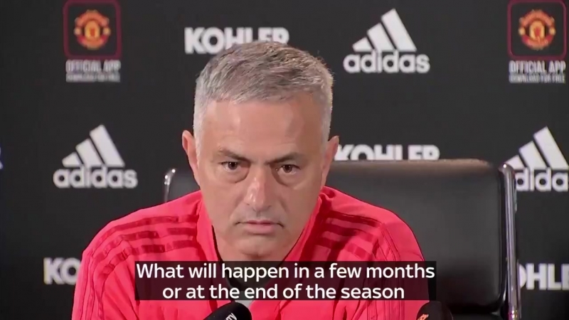 Jose Mourinho Leaves Manchester United Pre-Match Presser After 212 Seconds