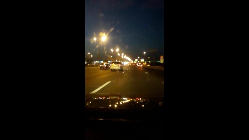 Москва направо Москва налево🤩🤗 мкад скорость вечер