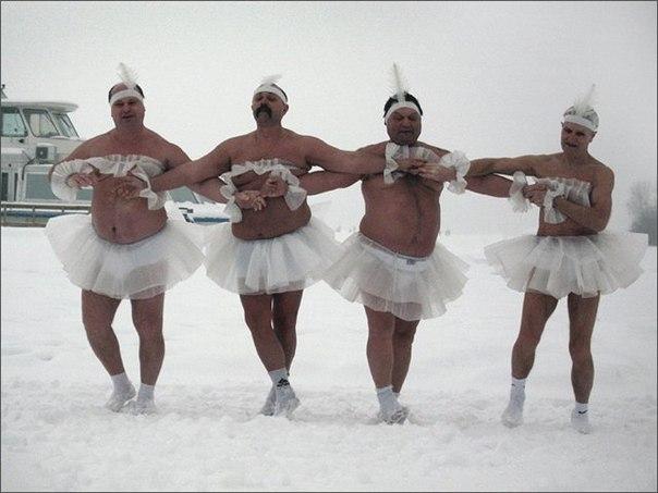 Фото с новогодних корпоративов)