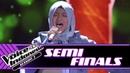Naura Ujung Pasir Deen Assalam Medley Semifinals The Voice Kids Indonesia Season 3 GTV