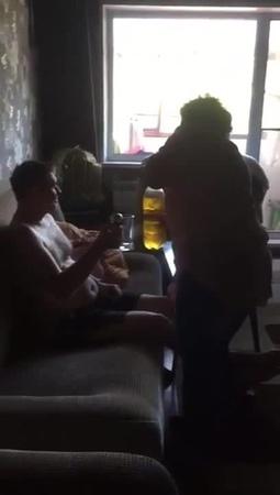 Пивная кружка со звонком ! coub