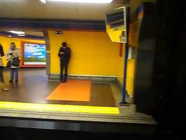 Metro de Madrid - Línea 4 - Velazquez - Goya