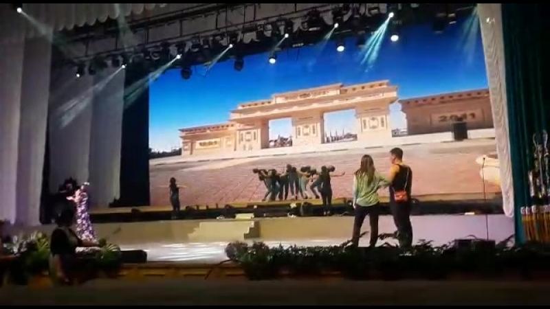 Репетиция в Конгрессхолле Астана 2018