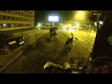 Ночь, улица, питбайк (мини) / Night, street, pitbike (mini)