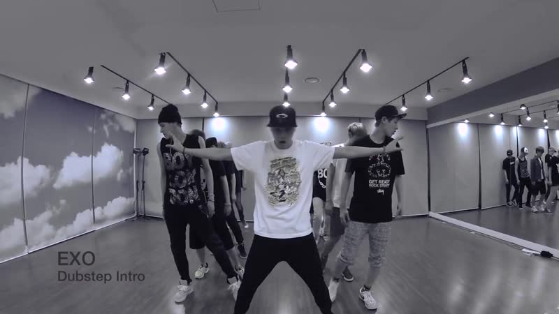 [ Dance Practice ] EXO Intro Dubstep ксан88