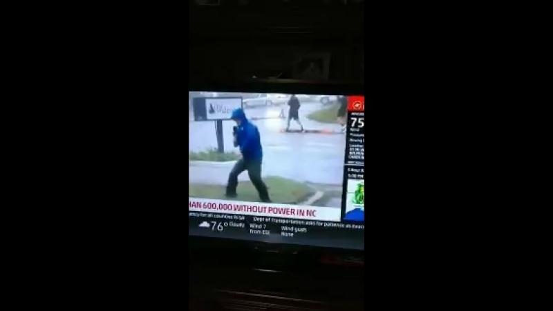 Фейковый ураган в пиндосии.
