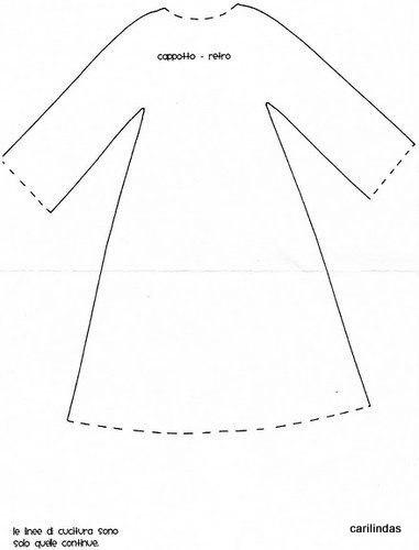 Выкройка одежды для кукол тильд своими руками