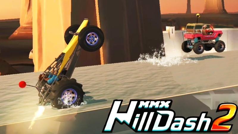 MMX HILL DASH 2 новая тачка БАГГИ и краски VIDEO FOR KIDS cars игра мультяшная про машинки для детей