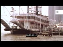 1970s New Orleans Bourbon Street Paddle Steamer